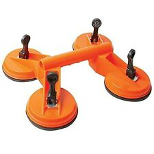 Suction Cup QUAD Pad Lifter 120kg Sucker Plate Glass tile Mirror Lifter
