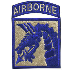 XVIII (18th) Airborne Corps - WW2 Repro Sky Dragons Patch Badge Flash Army New