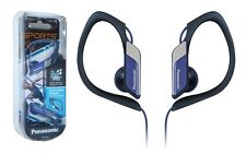 Panasonic In Ear Clip Type Water Resistant Sports Gym Headphones RP-HS34 - Blue