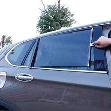 Car Truck Window Windshield Roller Blind Sun Shade Visor Rear Retractable Black