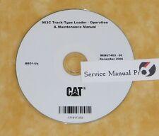 Sebu7403 Cat Caterpillar 963C Track Type Loader Operation Maintenance Manual Cd.