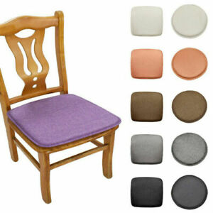 1PC Square/Round Seat Cushion Protector Dining Chair Booster Cushion Home Decor