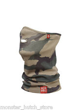 NEW W TAGS Airhole Unisex AT2 AIRTUBE ERGO MERINO FACEMASK JUNGLE CAMO HUNTING