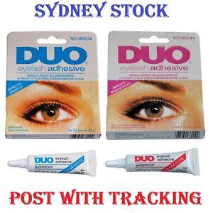 DUO Waterproof Clear White False Adhesive Eye Lash Glue Eyelashes Makeup