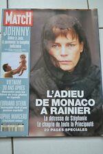 REVUE PARIS MATCH N°2918/2005 SPECIAL LES ADIEU DE MONACO A RAINIER /VIETNAM