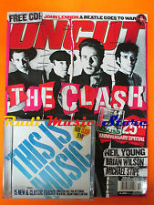 rivista UNCUT 89/2004 CD Steve Earle Clash J. Lennon Neil Young Smokey Robinson