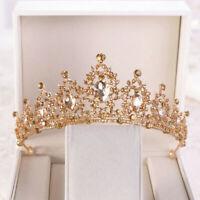 Krone Diadem Strass Tiara Kristall Luxus Braut Hochzeit Haarschmuck
