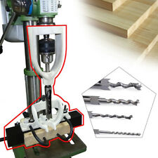 Woodworking Square Hole Chisel Mortising Mortise Tenon Drill Machine Bench Tools