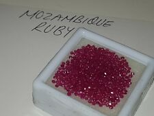 Beautiful Natural Mozambique Rubies qty 500 + *14.40 ct