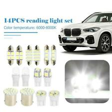 14Pcs Car Interior Package Map Dome License Plate Mixed LED Light Accessories US
