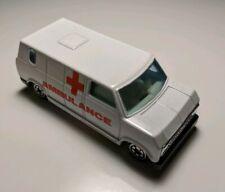 Vintage Ford Bedford Ambulance Van Yatming Diecast #1501 White HTF 1/64
