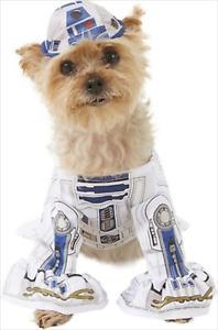 "Disney ~ Star Wars ~ R2-D2~ Pet Dog Costume ~ Size S 11"" ~ NWT"