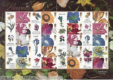 GS-013 - Flowers Generic Smilers Stamp Sheet