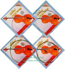 Set of 4/4 Alice Cello String Set Cello Strings Nickel Silver Wound A-803