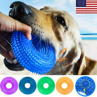 Pet Dog Dental Teething Chew Toy Durable Bite TPR Toy Resistance Sound Toys OCCA