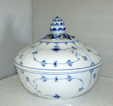 Royal Copenhagen Blue Fluted 225th Anniversary Large Covered Tureen Rare Ltd Ed