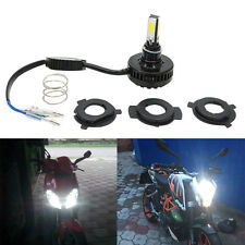 24W 3000LM H4 COB LED Motorcycle Bike Headlight HID Hi/Lo H6 BA20D Light Bulbs
