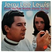 Jerry Lee Lewis Vinyl Would You Take Another Chance On Me? Very Good Condition