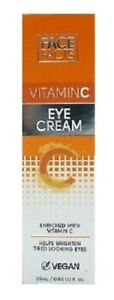 Face Facts Vitamin C Eye Cream Vegan 25ml - New & Boxed