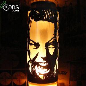 James Hetfield Beer Can Lantern! Metallica Pop Art Candle Lamp - Unique Gift!