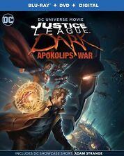 JUSTICE LEAGUE DARK:APOKOLIPS WAR(BLU-RAY+DVD+DIGITAL CODE)NEW FREE SHIPPING