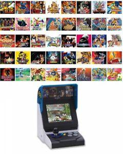 "SNK Multi Language Ver. NEOGEO Mini Miniture Arcade Game 3.5"" LCD Japan Tracking"