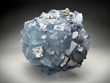 Fluorite and Galena Crystals, Bingham, New Mexico