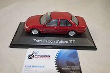 1:43 Paradise Garage Ford Falcon Futura EF Cardinal Red Metallic Die-Cast Model