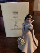 Lenox Snow White's Flowers - Figurine Disney