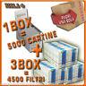 5000 Cartine Rizla Silver Corte + 4500 Filtri Rizla Slim 6mm OFFERTA!