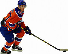 CONNOR McDAVID Edmonton Oilers NHL MVP 2017 - Action Pose Window Cling Sticker