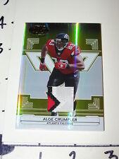 Alge Crumpler: 2006 Certified 3 Clr JSY Patch/25  Atlanta Falcons - NC Tar Heels