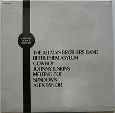 ALLMAN BROTHERS BAND Paragon Agency Presents 1970's US Promo Only LP Sealed