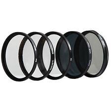 ---5x FILTERSET Gitterfilter+CPL+UV+ND8+ Makro 62mm---