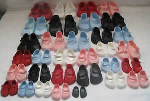 Vintage Cinderella dolls strap shoes size 03 fit Pedigree Palitoy Roddy