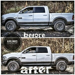 2013-2018 DODGE RAM 1500 (Air Suspension Only) Front AIRLINKS Leveling Kit
