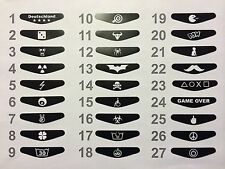 PS4 Playstation Decal Joypad Sticker Aufkleber Controller Logo Lightbar LED