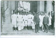 Colonie ricordo degli ascari a Roma 1912