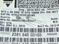 10K 5% NTC Thermistor VISHAY NTCLE101E3103JB0 238164503103  [QTY=10pcs]