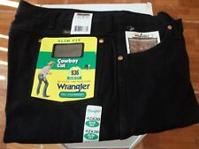 Men's Wrangler Black Slim Fit Cowboy Cut 936WBK  42 x 30 NWT