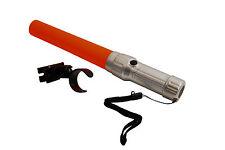 LED Einweiserstab - Winkerkelle f. Feuerwehr THW - Taschenlampe m. Aufsatz NEU