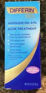 DIFFERIN 0.1% Adapalene Gel 1.6 oz Acne Treatment Exp: 11/23^^