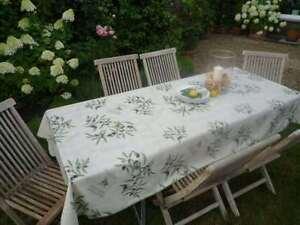Tischdecke Provence 150x200 cm Oliven creme aus Frankreich bügelfrei