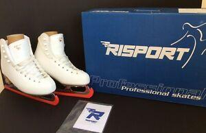 NEW in Box Risport Venus Figure Ice Skates Size 240 / UK 3 White WA