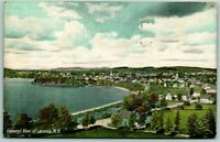 Postcard Laconia New Hampshire General View 1907 Posted Lake Houses