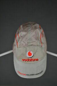 Mens Vodafone McLaren Mercedes Cap Baseball Hat Racing One Size
