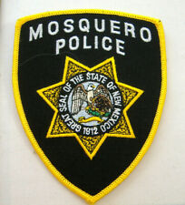 MOSQUERO NEW MEXICO  POLICE  FABRIC PATCH