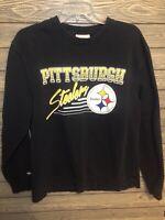 Retro Mitchell & Ness crew neck pullover Pittsburgh Steelers Men's XL sweatshirt