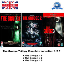 The Grudge Trilogy 1-3 Series 1 2 3 A horror film based on the Japanese New DVD
