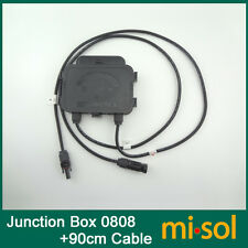 JUNCTION BOX for SOLAR CELLS PANELS,15AMP,with MC4 connector,with 90cm cable